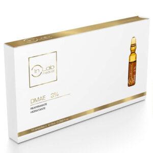 DMAE ampollas 3% hidratante e reafirmante